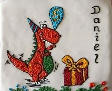 Tort dinozaur - Wypieki Beaty