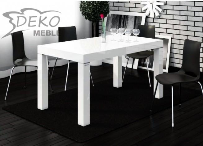 Stół idealny do nowoczesnych wnętrz. Posiłek z rodziną przy takim stole to prawdziwa przyjemność!
