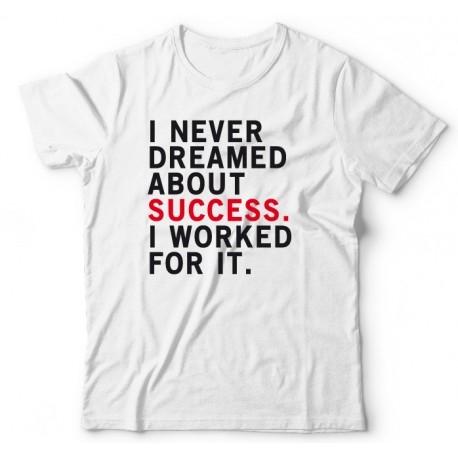 Koszulka męska SUCCESS w promocyjnej cenie.  Koszulki z nadrukiem littlethings.pl
