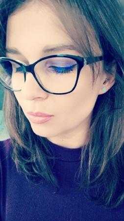 Srebrne kolczyki z zielono-niebieskim, mieniącym się opalem od Filigree.pl Kliknij na zdjęcie aby przejść do sklepu! :)