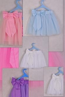 spódnice dla małych baletnic z tiulu w pastelowych kolorkach :)