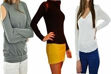 Lekkie sweterki na chłodniejsze dni. Obowiązkowo w Twojej szafie.