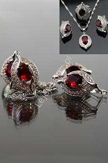 Zestaw biżuterii, srebro 925. lejdi-sklep.pl