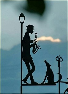 Jazzing away the day..
