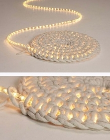 świecący dywanik