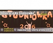 Dekoracje na studniówkę  Zapraszamy do naszego sklepu internetowego na arqdecor.pl oraz arqdecor.eu