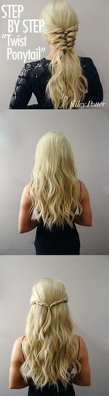 fryzury na każdą okazję :)