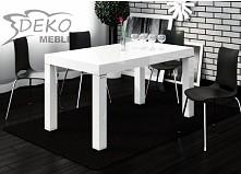 Stół idealny do nowoczesnych wnętrz. Posiłek z rodziną przy takim stole to pr...