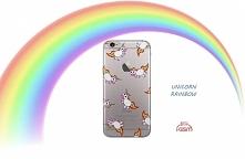 Etui w jednorożce <3 Unicorn Rainbow na wiele modeli telefonów :)