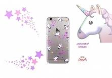 Etui w jednorożce - Unicorn Stars <3 Na wiele modeli telefonów!