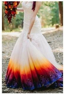 przepiękna suknia ślubna C;