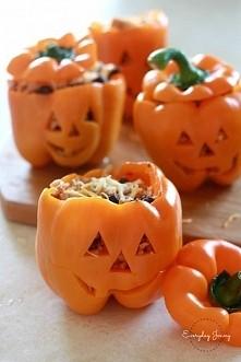 Halloweenowa papryka