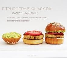 burgery z kalafiora i kaszy jaglanej