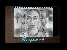 ✭ Speed drawing of Beyoncé ✭