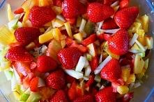 Sałatka owocowa jako bogate źródło witamin