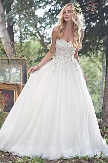 suknia od Maggie Sottero. Boska!! *.*