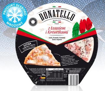Nie polecam tego ścierwa.. Ohydne krewetki- słone, bez smaku, w środku konstyntencja miękka jak by sie jadło larwe.. fuuj! łosoś śmierdzący, paskudny nie da sie tego zjesc, cala pizza jedzie łososiem ohyda... ! Pizza do kosza-strata pieniedzy.!