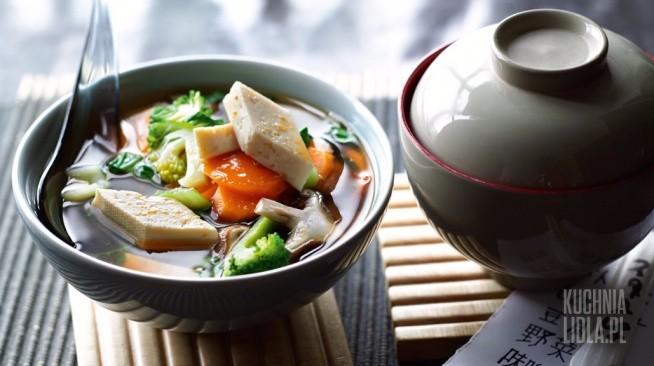 Lidl Zupa Miso Z Warzywami I Tofu Klik Marchew 250 G Bro Na