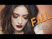 Orange and Brick Red Fall Makeup Look   Melissa Alatorre