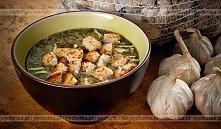 Zupa pokrzywowa z wędzonym boczkiem