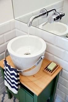pomysł na umywalkę