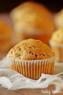 Wegańskie muffiny z jabłkami