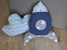 Poduszki dekoracyjne dla dzieciaków, wypełnienie antyalergiczne.