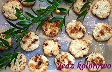 Ciastka kokosowo-jaglane, bez cukru, bez jajek, bg