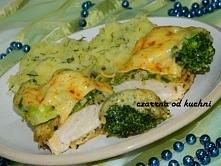 Filet z kurczaka z brokułem i serem wygląda na banalny pomysł, ale zadowala podniebienie jak mało które danie! :)