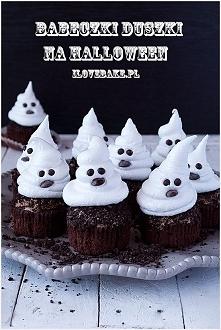 Babeczki duszki na Halloween!