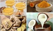 Zmiksuj kurkumę, imbir, olej kokosowy i pij godzinę przed snem! Rezultaty w g...