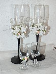 Kieliszki weselne...na wódk...