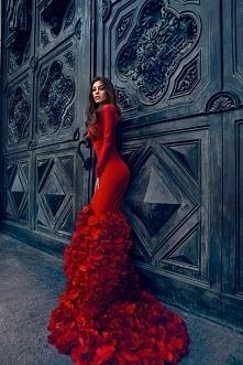 piękna czerwień