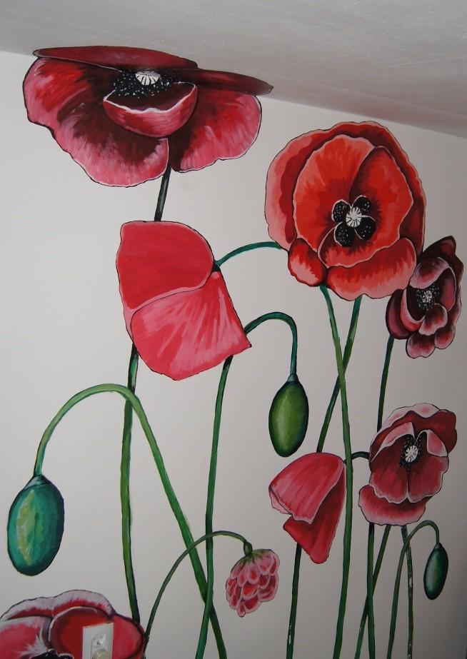 Maki na ścianie