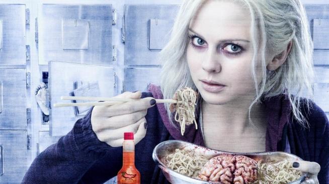 iZombie.  Mój ulubiony serial. Młoda studentka i zarazem zombie podejmuje pracę w biurze koronera, aby mieć stały dostęp do pożywienia.