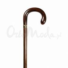 Laska Malta to klasyczna brązowa laska inwalidzka do podpierania, wykonana w stylu tradycyjnym z dużym zaokrąglonym uchwytem z brązowego tworzywa. Trzon drewniany w kolorze ciem...
