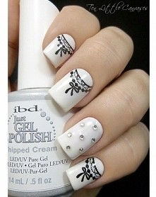 #manicure #koronka