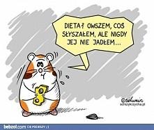 Nawet z dietą trzeba ostrożnie :)