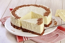 Biały Puch!  Może nazwa sugeruje zimę, ale smak jest niewątpliwie jesienny. Pełne, kremowe ciasto, z czekoladami. Idealnie wpisuje się w słodyczogłodne wieczory w czasie jesienn...