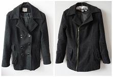 Moja przeróbka zwykłego płaszczyka :) Po lewej stronie na zdjęciu płaszczyk j...