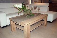 Drewniany stolik do salonu