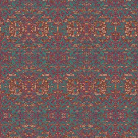 Bawełniana tkanina Żarząca Geometria (kliknij, żeby kupić)
