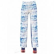 Wzorzyste, szerokie spodnie z Rayonu dostępne w butiku Łatka fashion