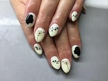 Efekt dmuchawców na paznokciach. Najlepsze wzory!