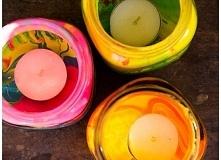 Fantastyczne lampiony w kolorach tęczy, wykonane własnoręcznie w prosty sposób