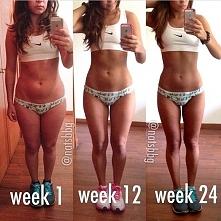Mam nadzieję, że też będę miała takie efekty po 12 tygodniach :)