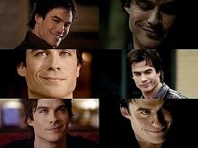 Damon i te jego minki xD