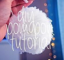 DIY pompon - klik w obrazek, a na nim tutorial.