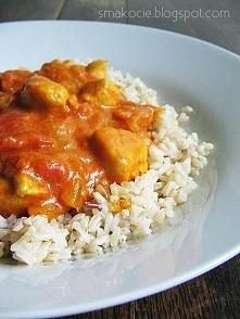 Kurczak curry - szybki i łatwy