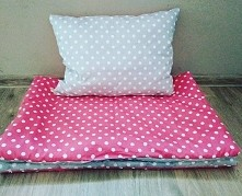 Kołderka z poduszką. Zapraszam na stronę Toluna Handmade